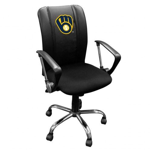 Milwaukee Brewers XZipit Curve Desk Chair