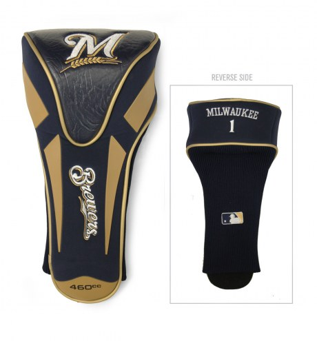 Milwaukee Brewers Apex Golf Driver Headcover