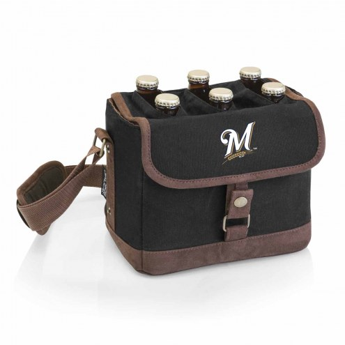 Milwaukee Brewers Beer Caddy Cooler Tote with Opener