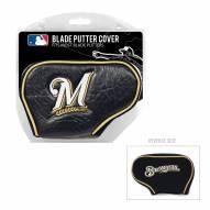 Milwaukee Brewers Blade Putter Headcover