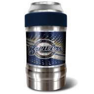 Milwaukee Brewers Blue 12 oz. Locker Vacuum Insulated Can Holder