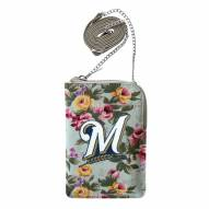 Milwaukee Brewers Canvas Floral Smart Purse