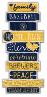 Milwaukee Brewers Celebrations Stack Sign