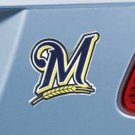 Milwaukee Brewers Color Car Emblem