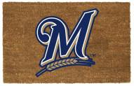 Milwaukee Brewers Colored Logo Door Mat