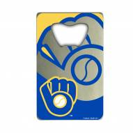 Milwaukee Brewers Credit Card Style Bottle Opener