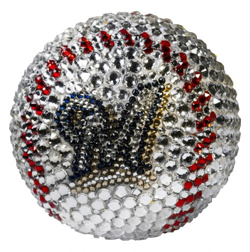 Milwaukee Brewers Swarovski Crystal Baseball