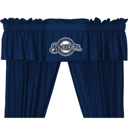 Milwaukee Brewers Curtain Valance