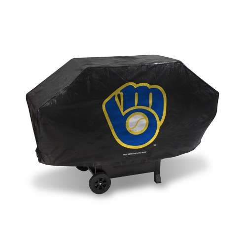 Milwaukee Brewers Deluxe Padded Grill Cover