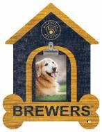 Milwaukee Brewers Dog Bone House Clip Frame