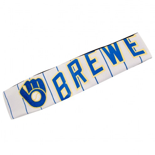 Milwaukee Brewers FanBand Jersey Headband