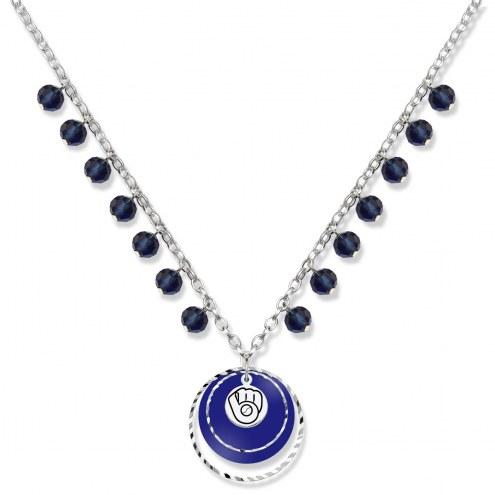 Milwaukee Brewers Game Day Necklace