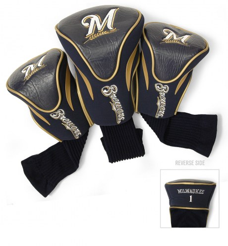Milwaukee Brewers Golf Headcovers - 3 Pack