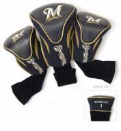 Milwaukee Brewers Golf Headcovers - 3 Pack