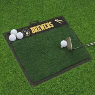 Milwaukee Brewers Golf Hitting Mat