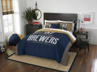 Milwaukee Brewers Grand Slam Full/Queen Comforter Set