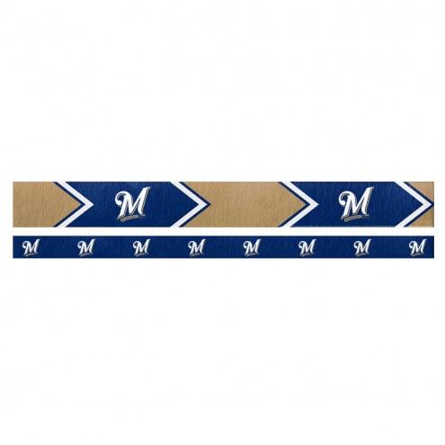 Milwaukee Brewers Headband Set