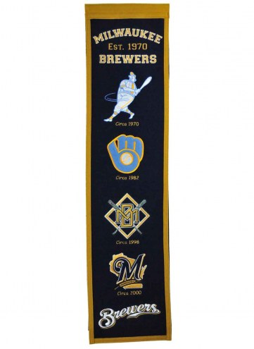 Milwaukee Brewers Heritage Banner