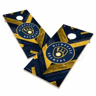 Milwaukee Brewers Herringbone Cornhole Game Set