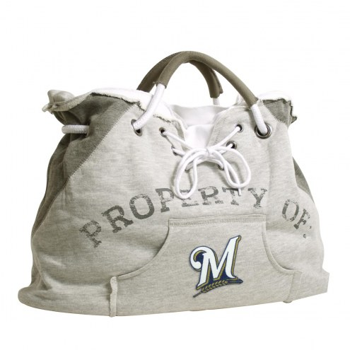 Milwaukee Brewers Hoodie Tote Bag