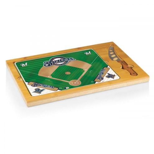 Milwaukee Brewers Icon Cutting Board