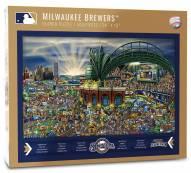 Milwaukee Brewers Joe Journeyman Puzzle
