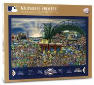 Milwaukee Brewers Joe Journeyman Puzzle