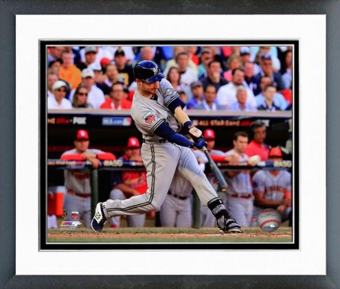 Milwaukee Brewers Jonathan Lucroy All-Star Game Framed Photo