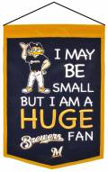Milwaukee Brewers Lil Fan Traditions Banner