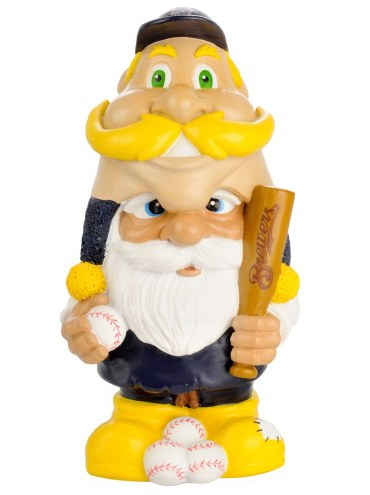 Milwaukee Brewers Mad Hatter Garden Gnome