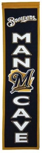 Milwaukee Brewers Man Cave Banner