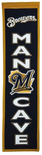 Milwaukee Brewers Man Cave Banner