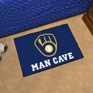 Milwaukee Brewers Man Cave Starter Mat