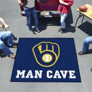 Milwaukee Brewers Man Cave Tailgate Mat