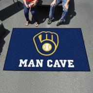Milwaukee Brewers Man Cave Ulti-Mat Rug