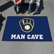 Milwaukee Brewers Man Cave Ulti-Mat Rug