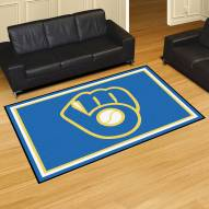 Milwaukee Brewers MLB 5' x 8' Area Rug