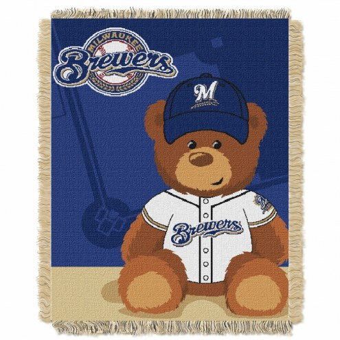 Milwaukee Brewers MLB Baby Blanket