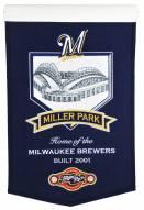 Milwaukee Brewers MLB Miller Park Stadium Banner
