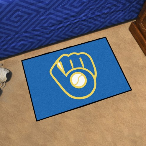 Milwaukee Brewers MLB Starter Rug