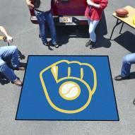 Milwaukee Brewers MLB Tailgate Mat