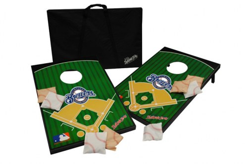 Milwaukee Brewers MLB Bean Bag Tailgate Toss Game