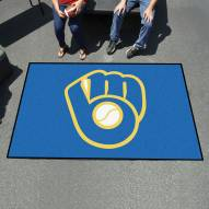 Milwaukee Brewers MLB Ulti-Mat Area Rug