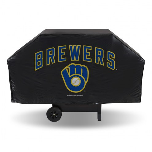 Milwaukee Brewers MLB Vinyl Grill Cover