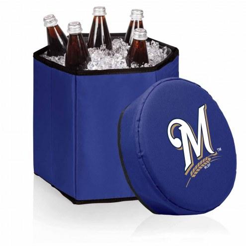 Milwaukee Brewers Navy Bongo Cooler