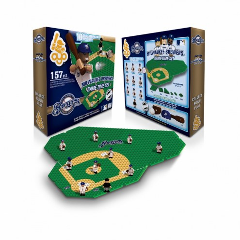 Milwaukee Brewers OYO Game Time Set