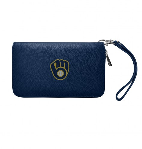 Milwaukee Brewers Pebble Organizer Wallet