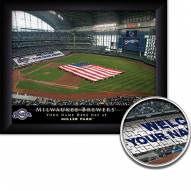 Milwaukee Brewers 11 x 14 Personalized Framed Stadium Print
