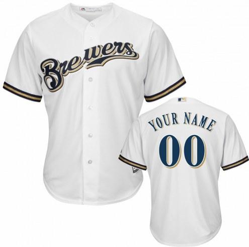 Milwaukee Brewers Personalized Replica Home Baseball Jersey