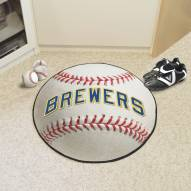 Milwaukee Brewers Baseball Rug